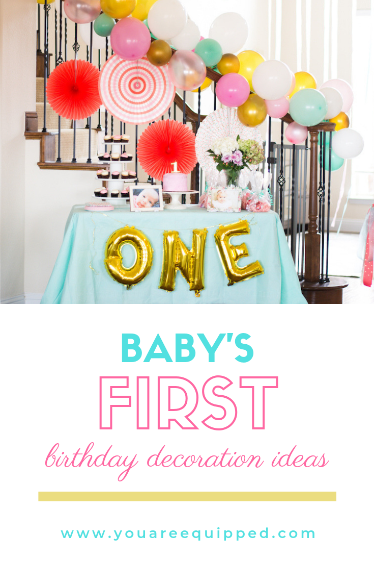 Baby S 1st Birthday Decoration Ideas You Are Equipped